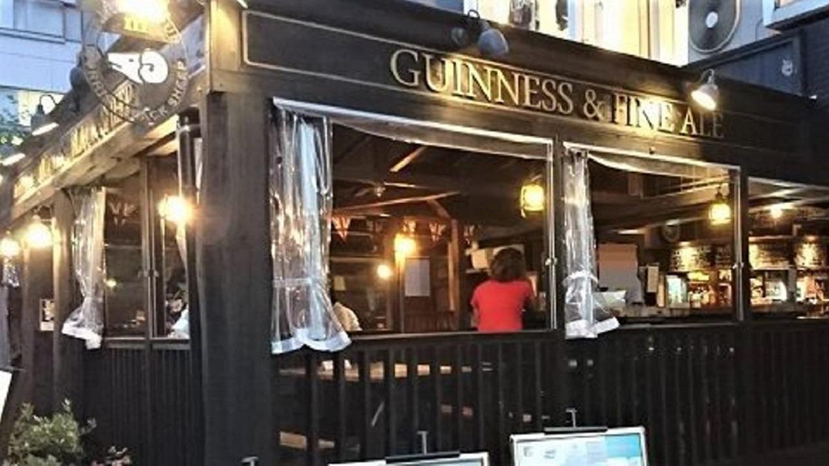 British Pub MORRIS BLACK SHEEP
