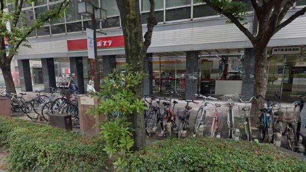 博多口側・博多駅路上駐輪場