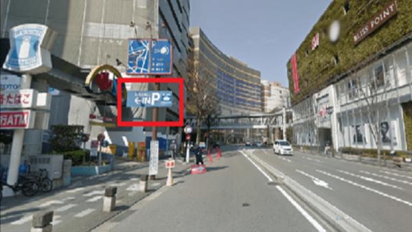 キャナルシティ博多の駐車場