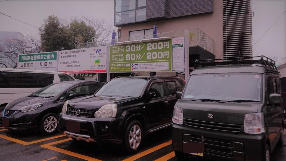 ワコー西中洲駐車場