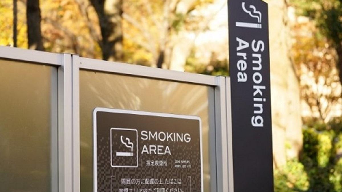 所 喫煙 近く の