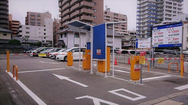 てんぐ産業駐車場