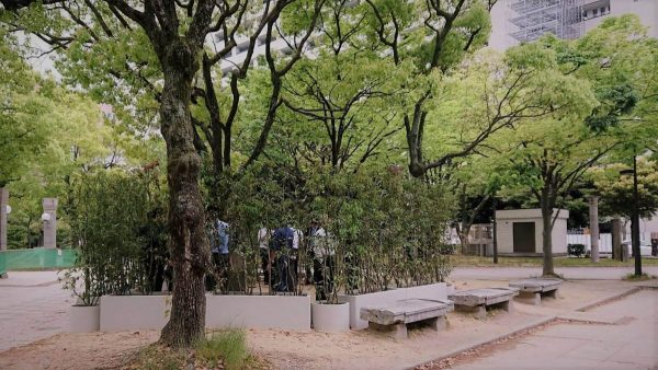 天神中央公園 喫煙所