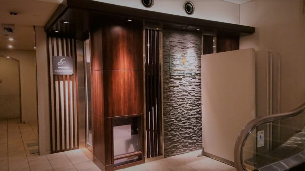 西鉄グランドホテル 喫煙室