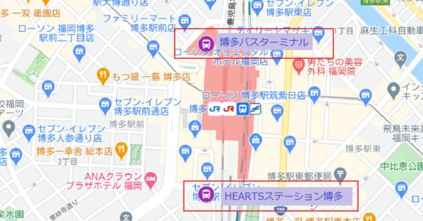 博多駅バスターミナル
