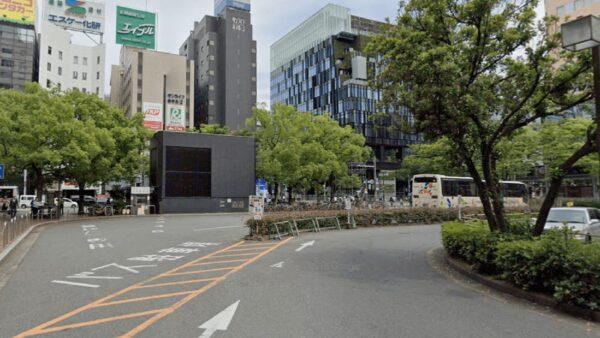 筑紫口側貸切バス駐車